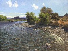 Fishing the Limay