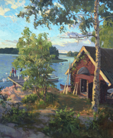 Munken Island Boathouse