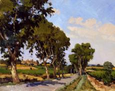Road to Aureillas
