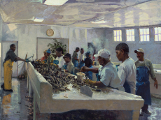 Bluffton Oyster Factory Shuckers