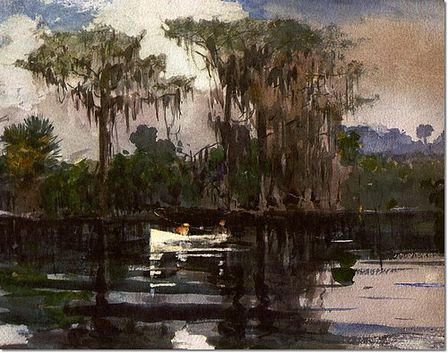 Winslow Homer, St. John's River, Florida